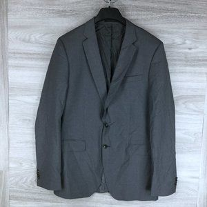 Hugo Boss Huge Genius Navy Wool Suit Jacket
